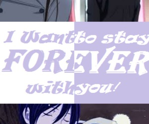 anime, forever, and with you image