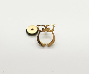 owl jewelry, stainless steel, and ear stretcher image