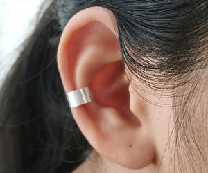 etsy, cartilage earrings, and non pierced ear cuff image