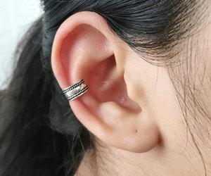 etsy, cartilage earrings, and ear cuff earrings image