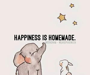 happiness, homemade, and quote image