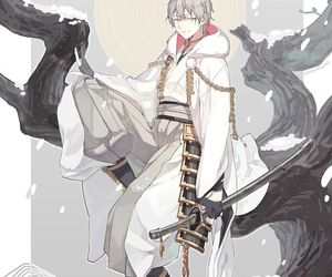 anime, boy, and touken ranbu image