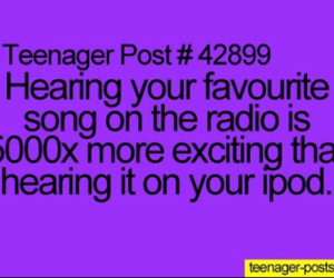radio, music, and teenager post image