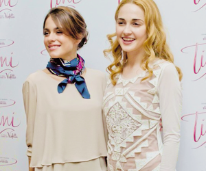 martina stoessel, mercedes lambre, and tini stoessel image