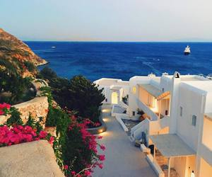 city, nature, and Greece image