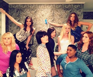 brittany snow, pitch perfect, and rebel wilson image