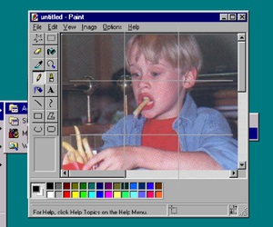 boy, homealone, and computer image