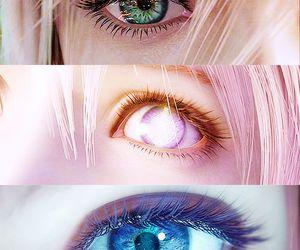 eyes, final fantasy, and lightning image
