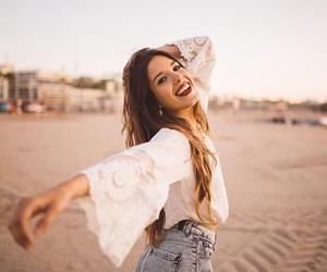 beach, fashion, and photoshoot image