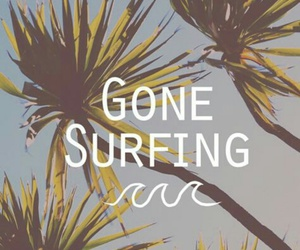 summer, surfing, and beach image