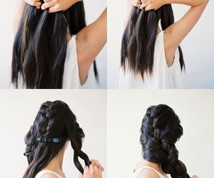 hair, tips, and trenzas image