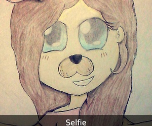 girl, selfie, and snapchat image