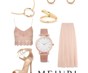 clothes, fashion, and gold image