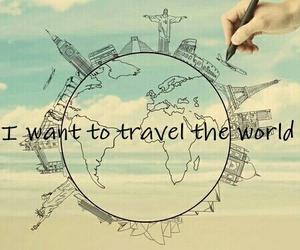 travel, world, and city image