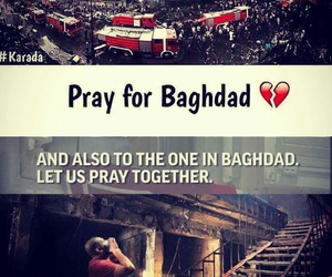 baghdad, explosion, and iraq image
