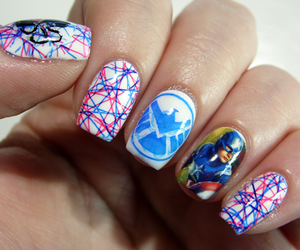 captain america, nails, and hydra image