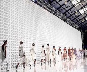 fashion, runway, and model image