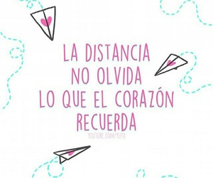 frases, amor, and distance image