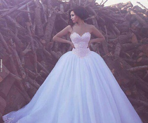 awesome, beautiful, and wedding dress image