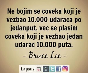 balkan, bruce lee, and quotes image