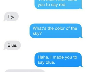 funny, red, and blue image