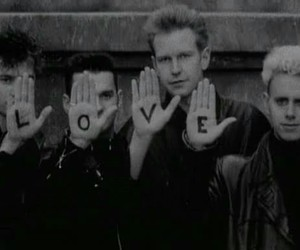 depeche mode and love image