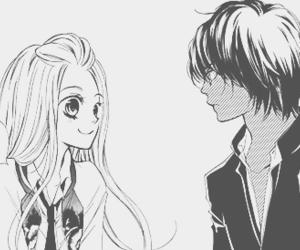 manga, anime, and blush image