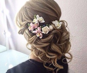 girls, hair, and hairstyle image
