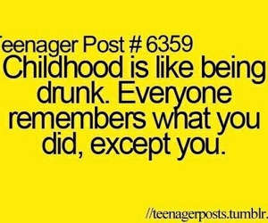 childhood, teenager post, and funny image