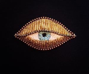 art, eye, and fashion image