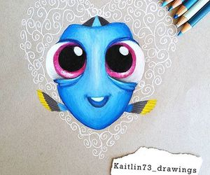 dory, art, and disney image