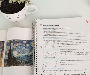 desk, stationary, and study image