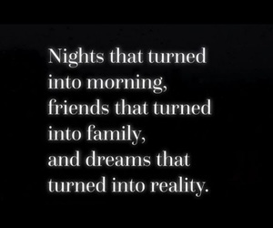 family, quote, and friends image