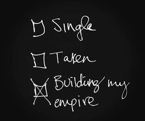 single, empire, and taken image