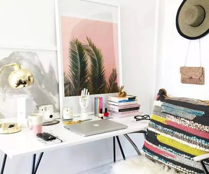 desk, home, and organization image