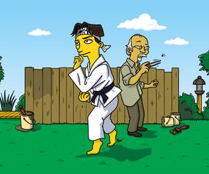 illustration, adn, and karate kid image
