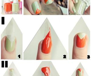 orange, nails, and green image