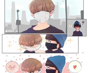 fanart, kpop, and bangtan image