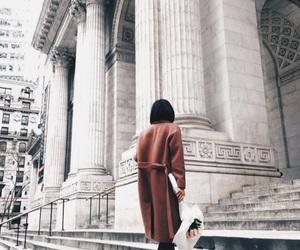 fashion, architecture, and coat image