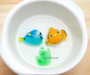 dory, finding nemo, and food image