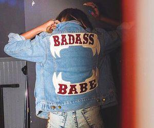 babe, rocknroll, and badass image