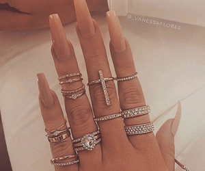 fashion, pretty, and nails image