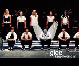 glee, lea michele, and glee cast image