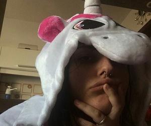 girl and unicorn image