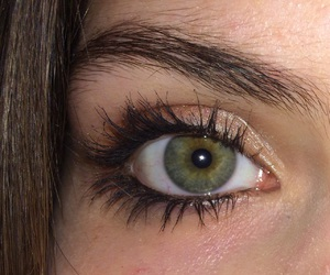 eyes, girls, and green image