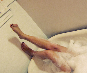 bath and legs image