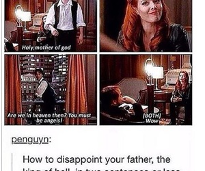 crowley, dean, and funny image