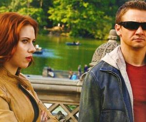 hawkeye, Scarlett Johansson, and the avengers image