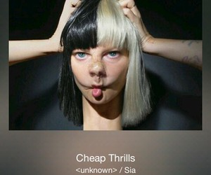 cheap, thrills, and ️sia image