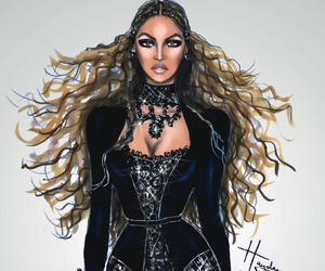 beyoncé and drawing image